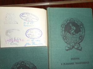 Dnevnik Slovenske planinske poti - se še spominjate v blago oblečenih platnic?